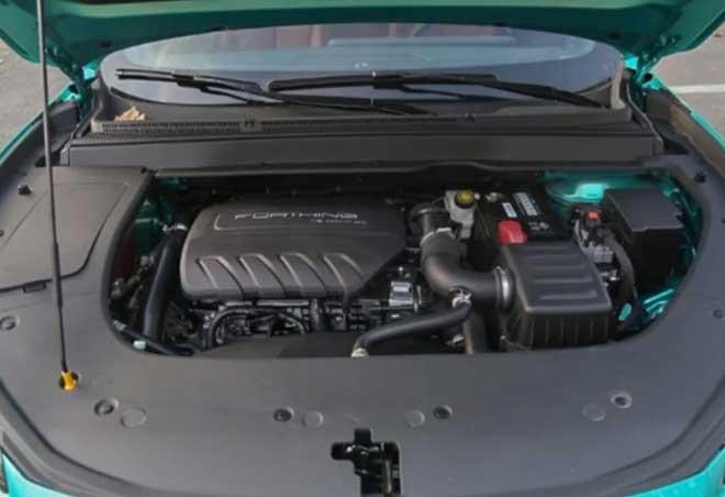 Động cơ xăng tăng áp 1.5 lít 4 xi-lanh sản sinh công suất 197 mã lực và mô-men xoắn cực đại 285 Nm