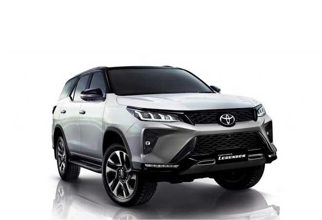 Toyota Fortuner thế hệ mới sẽ có thêm nhiều trang bị cao cấp